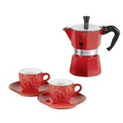 BIALETTI - set Moka Red Passion