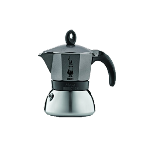 Bialetti Moka Induction Antracit, 3 šálky