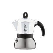 Bialetti Moka Induction White, 3 šálky