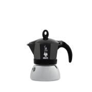 Bialetti Moka Induction Black, 3 šálky