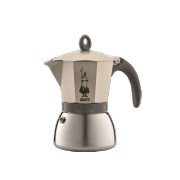 Bialetti Moka Induction Light Gold, 3 šálková