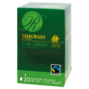 Ridgways Pure Green, 100% zelený čaj, 20 ks (FAIRTRADE)